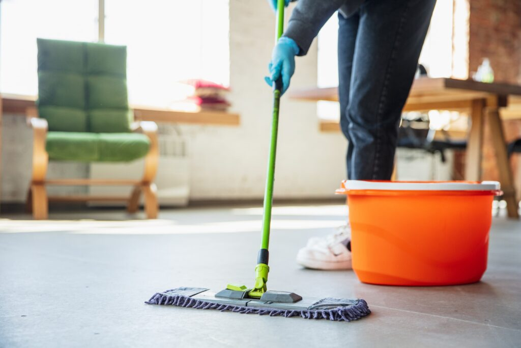 Take an individual approach to parquet floor cleaning